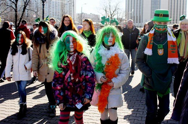День Святого Патрика 2018 в Москве